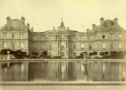 France Paris Palais Du Luxembourg Ancienne Photo Mansuy 1868