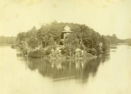 France Paris Lac Du Bois De Boulogne Ancienne Photo Mansuy 1868