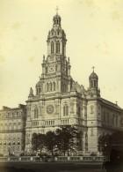 France Paris Église De La Sainte-Trinité Ancienne Photo Mansuy 1868