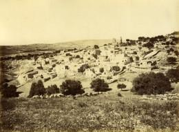 Palestine Bethanie Vue Generale Syrie Ancienne Photo Felix Bonfils 1870'