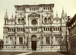 Italie Chartreuse De Pavie Monastere Ancienne Photo Sommer 1875'