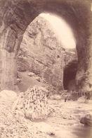 Algerie Constantine Falaises Cliffs Ancienne Photo 1880'