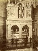 Italie Chartreuse De Pavie Monastere Eglise Interieur Ancienne Photo 1880'