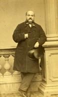 France Homme En Pied Mode Second Empire Ancienne Photo CDV Mayer Et Pierson 1860