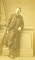 France Homme En Pied Mode Second Empire Ancienne Photo CDV Numa Blanc 1860