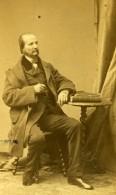 France Homme En Pied Mode Second Empire Ancienne Photo CDV Pierre Petit & Trinquart 1860