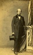 France Homme En Pied Mode Second Empire Ancienne Photo CDV Lagriffe 1860
