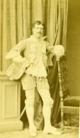 France Homme En Pied Costume Mode Second Empire Ancienne Photo CDV Franck 1870