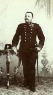 Yougoslavie Militaire En Uniforme Ancienne Photo CDV 1900'