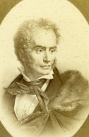 Peintre Anne-Louis Girodet Néoclassicisme Ancienne Photo CDV Charles Jacotin 1870