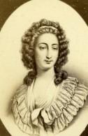 Aristocrate Marie-Maurille De Sombreuil Villelume Ancienne Photo CDV Charles Jacotin 1870 - Foto's