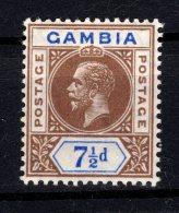 Gambia, 1912, SG 95, MNH (Wmk Mult Crown CA) - Gambia (...-1964)