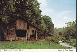 United States PPC Pitoresque Tobacco Barns, Charlotte North Carolina Photo Jim Doane (2 Scan) - Charlotte