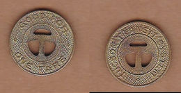 AC -  TUCSON TRANSIT SYSTEM GOOD FOR ONE FARE ARIZONA TOKEN - JETON - Monedas/ De Necesidad
