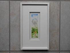 """Original Aquarell Schweiz GR """"s'Blüemli"""" - CHF 235,00 - (BAR Oder 100% WIR) - Aquarelles"""