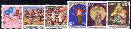 R865 - TRINIDAD TOBAGO 1968  , Yvert  Serie N. 214/219   ***  MNH  Carnevale - Trindad & Tobago (1962-...)