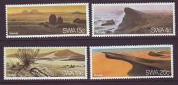 D120612 South West Africa 1977  NAMIB DESERT Sand Dunes MNH Set  - SWA Namibia Namibie
