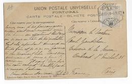PORTUGAL - 1908 - CARTE De LISBONNE => PARIS - Lettres & Documents
