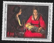 N° 1479  FRANCE  -  NEUF  -  TABLEAU NOUVEAU NE DE G. DE LA TOUR -  1966 - France