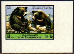 08406 Afganistão 986 Ursos Animais Sem Denteação Nnn - Afghanistan