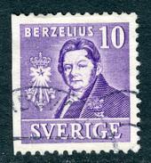 SWEDEN 1939 Berzelius 3-Sides Perforation, Stamp Fine Used  Scott 297 A - Sweden