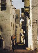 Saudi Arabia PPC Jeddah - Old Souk, Shadow And Light Tag Art's Saudi Photo Gérard Delorme (2 Scan) - Saudi-Arabien