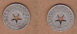 AC -  STAR AND CRESCENT FERRY CO SAN DIEGE CALIFORNIA GOOD FOR ONE FARE TOKEN - JETON - Monetary/Of Necessity