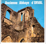 Ancienne Abbaye D'Orval (bière-Trappiste-Moines)-Petit Fascicule De 24 Pages Largement Illustré-1970-dim.14,5x14,3cm - Belgium