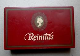 Ancienne Boite Métal Cigarillos REINITAS - Boites à Tabac Vides