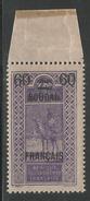 SOUDAN FRANCAIS 1922 YT 43** - SANS CHARNIERE NI TRACE - Sudan (1894-1902)