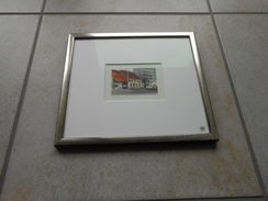 "Original Acril Malerei - Schweiz BL ""Therwil Restaurant Schützen""- 450,00 € - Acrilici"