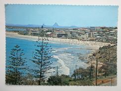 Postcard King's Beach Caloundra & Glasshouse Mountains Queensland Sunshire Coast Australia My Ref B2623 - Sunshine Coast