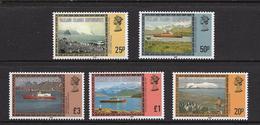 GEORGIE DU SUD 1985 PAYSAGES   YVERT N°7153/57  NEUF MNH** - Géorgie Du Sud