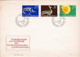 "Liechtenstein    FDC  1971 ""Landesmuseums"""