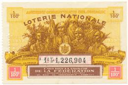 LOTERIE NATIONALE - Coloniaux Et Anciens Coloniaux - Billetes De Lotería