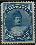 Stamp Hawaii 1882 Mint 1c Lot#9 - Hawaï