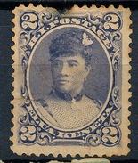 Stamp Hawaii 1890 Mint 2c Lot#12 - Hawaï