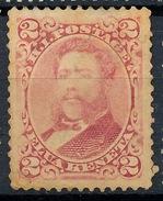 Stamp Hawaii 1883 Mint 2c Lot#14 - Hawaï