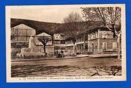 La Voulte Sur Rhône  ARDECHE . Monument   Louis .Antériou   - Carte Postale Ancienne  Sépia - Bon état - La Voulte-sur-Rhône