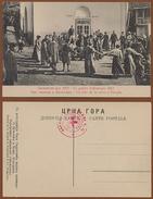 MONTENEGRO, PLEVLJE-SERBIAN WEDDING/HOSPITAL BALKAN WAR RED CROSS PICTURE POSTCARD RRR!!!!! - Montenegro