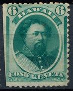 Stamp Hawaii 1864 Mint 6c Lot#17 - Hawaï