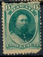 Stamp Hawaii 1864 Mint 6c Lot#18 - Hawaï