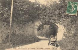 MEREVILLE (91)  LE PONT DES PARIS , ROUTE D'ETAMPES - Mereville