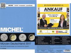 MICHEL Münzen Ab 1871 Deutschland/EU 2017 New 29€ D DR 3.Reich BRD DDR Numismatik Coins Catalogue 978-3-95402-193-2 - Kupfer