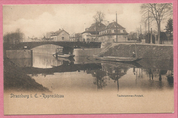 67 - RUPRECHTSAU - STRASBOURG ROBERTSAU - Pont Sur Le Canal - Taubstummen-Anstalt - Institution Des Sourds Muets - Strasbourg