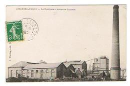 CPA 08 AMAGNE LUCQUY La Distillerie Ancienne Sucrerie - Autres Communes