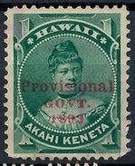 Stamp Hawaii 1893  Mint  Lot#7 - Hawaï