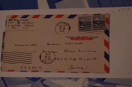 3-1372 Rare France USA Pilote Aviation Chasse Selfridge Field 1945 Pilote Français Montbrison Généalogie FFL Chovet Roge - Guerre Mondiale (Seconde)