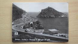LIGURIA CARTOLINA DA ISOLA DI BERGEGGI SAVONA FORMATO GRANDE VIAGGIATA - Savona