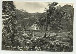VALLE GESSO - VALSIERI  VIAGGIATA  FG - Cuneo